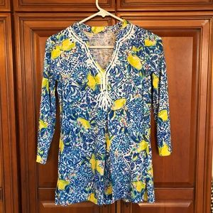 NWOT lilly tunic xxs